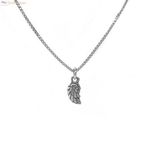 ZilverVoorJou Zilveren mini vleugel collier