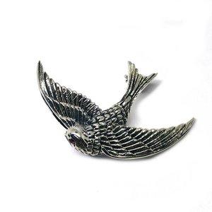 ZilverVoorJou Zilveren broche adelaar vogel