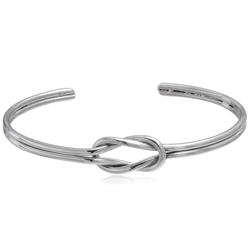 ZilverVoorJou Zilveren knoop armband