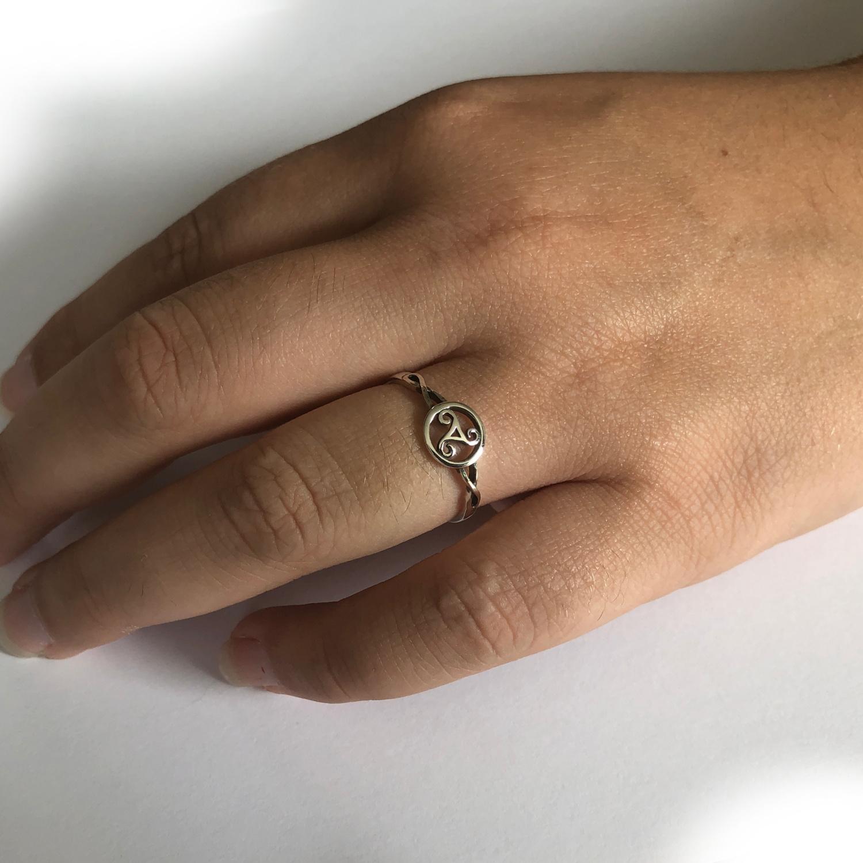 keltische tribal ring 925 zilver-2