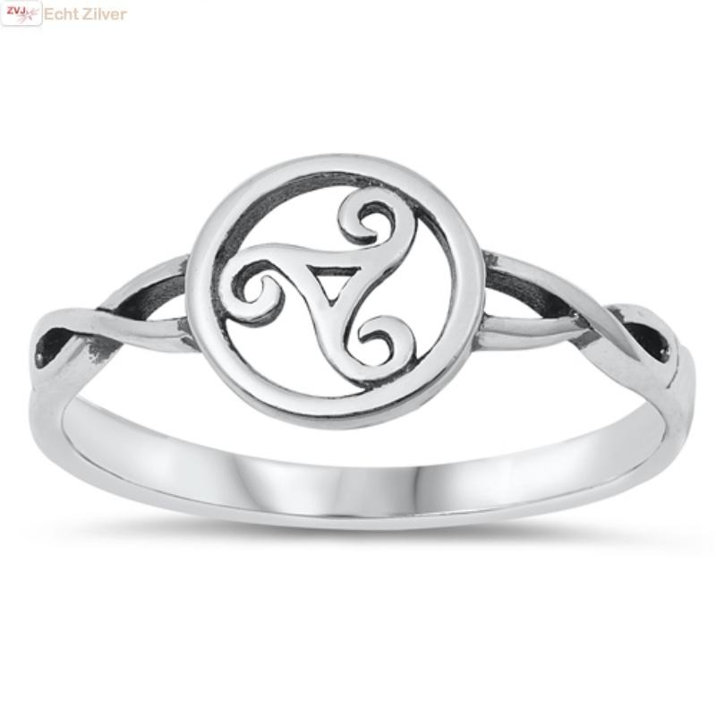 keltische tribal ring 925 zilver-1