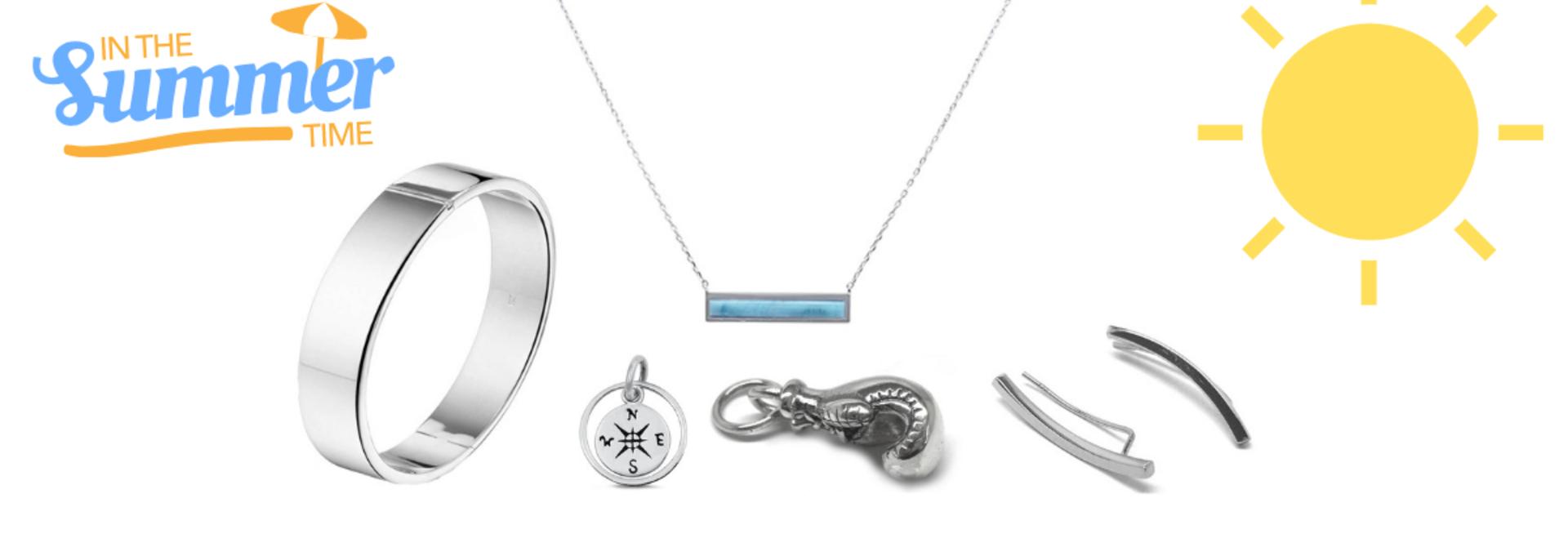 Aanloop zilveren sieraden