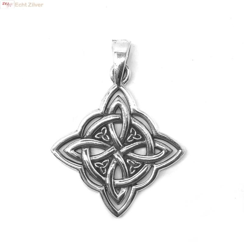Keltische knoop hanger square-3