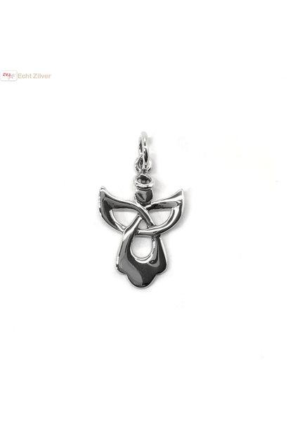 Zilveren engel kettinghanger