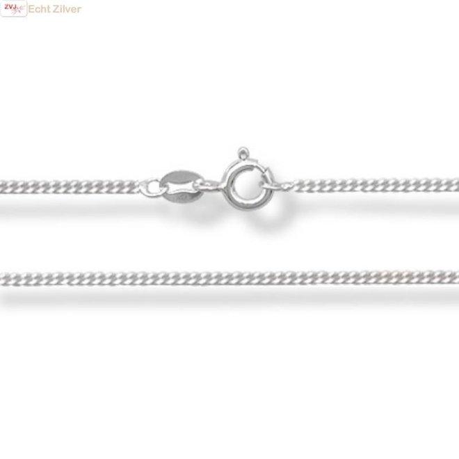 925 Zilveren pretzel of krakeling  kettinghanger