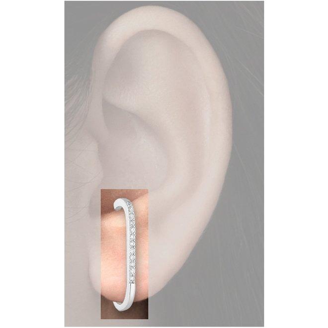 925 Zilveren design dulcet oorstekers