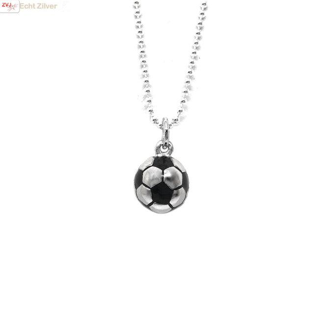 925 Zilveren voetbal kettinghanger