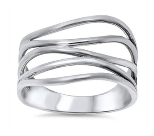 Ringen plain zilver zonder steen