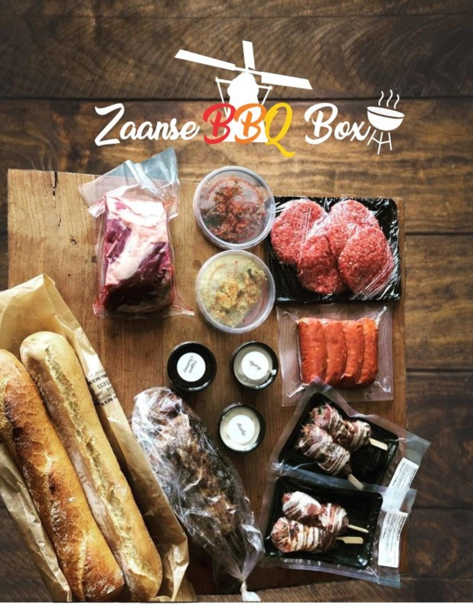 Zaanse BBQ Box - alleen Zaanstreek