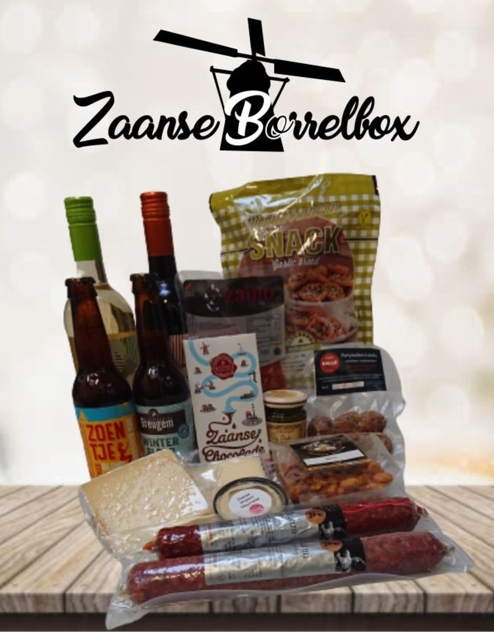 De Zaanse Borrelbox - alleen Zaanstreek