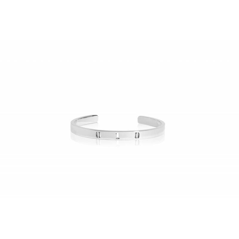 Rotterdam bracelet - cuff- silver