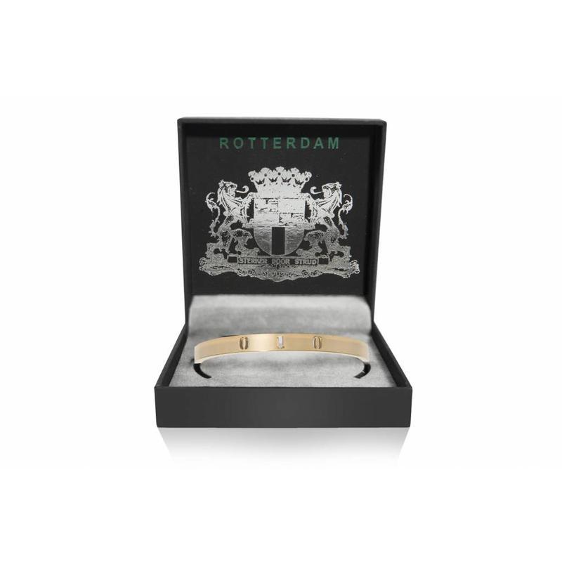 Rotterdam bracelet - cuff- Gold