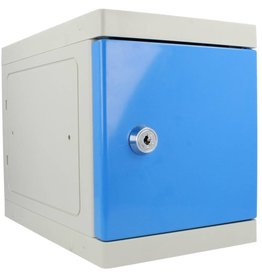 o27 Kunststof Mini Locker - Blauw