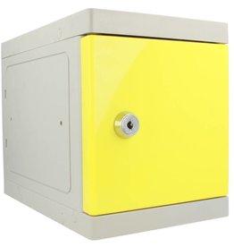 o27 Kunststof Mini Locker - Geel