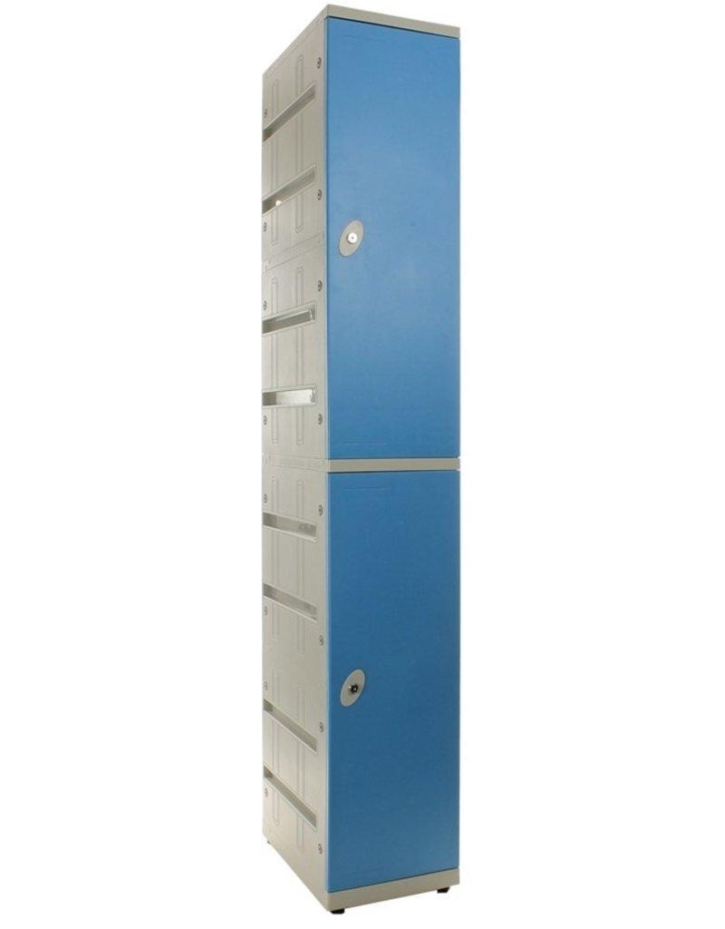 o27 Kunststof Tweedeurs Locker - Type K02