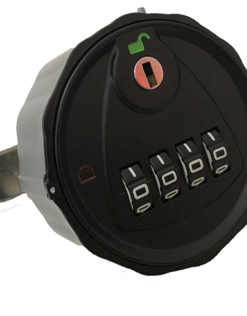 o27 Mechanisch cijferslot met moedersleutel optie