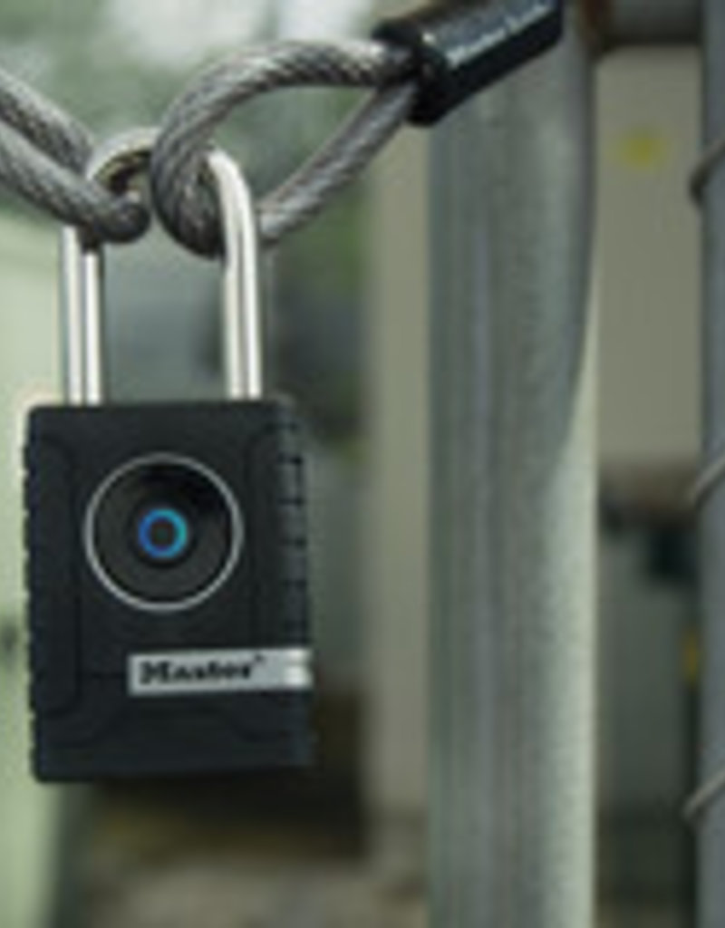MasterLock Bluetooth Hangslot 4401EURDLH voor buitengebruik