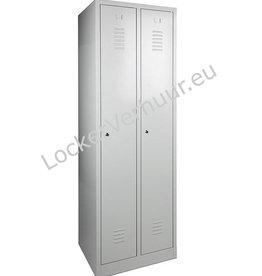 o27 Garderobelocker met 2 deuren