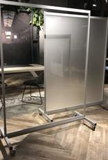 Plexiglas verrijdbaar scherm