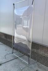 PVC scherm in frame