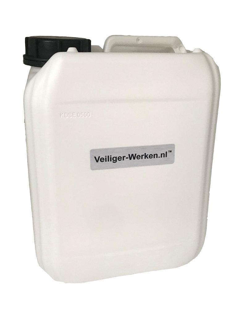5 liter desinfectie vloeistof 70% alcohol