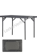 Opklapbare tafel 120*76 cm