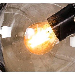 Lichtbron LED filament bol ø4,5cm