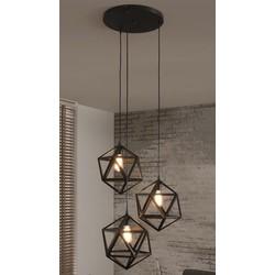 Hanglamp 3L Triangle
