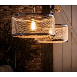 Hanglamp mesh verstelbaar touw