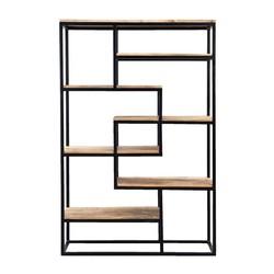 Industriele boekenkast Saamph 210x110cm