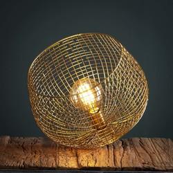 Tafellamp 33cm basket wire