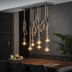 Hanglamp 7L touw