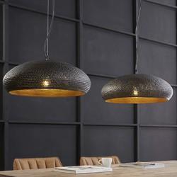 Hanglamp 2xø53cm punch ovaal