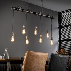 Hanglamp 7L industial tube wikkel