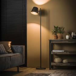 Vloerlamp 1L verstelbare metalen kap