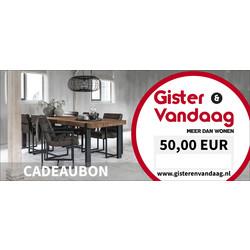 Cadeaubon €50,00
