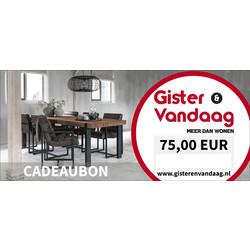 Cadeaubon €75,00