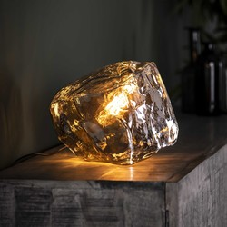 Tafellamp Rocky chromed