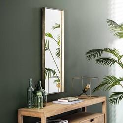 Spiegel Kamiel 40x100 cm opstaande rand