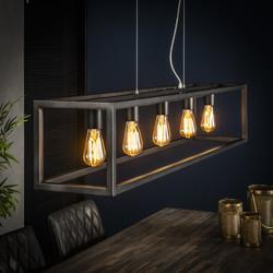 Hanglamp 5L rechthoek