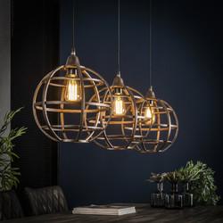 Hanglamp Globe 3xØ33