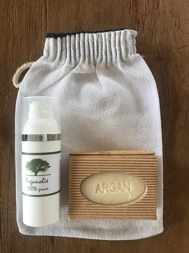 Mijn Argan Gift box small    roses