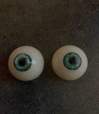 Kleur ogen blauw met groen