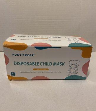 North Bear Wegwerp Masker Voor Kinderen