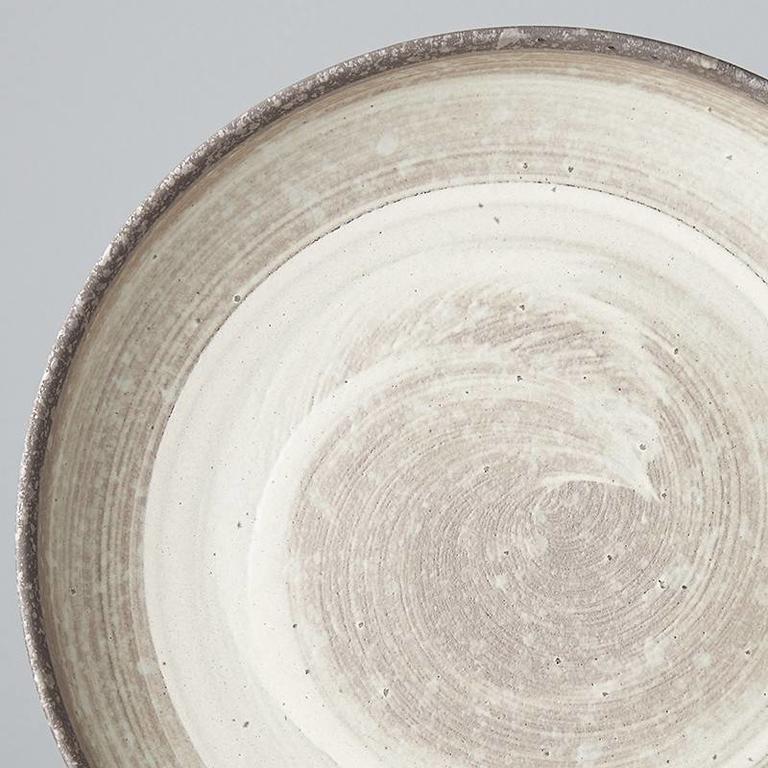 Nin Rin Plate W High Rim 22cm x 4.5cm