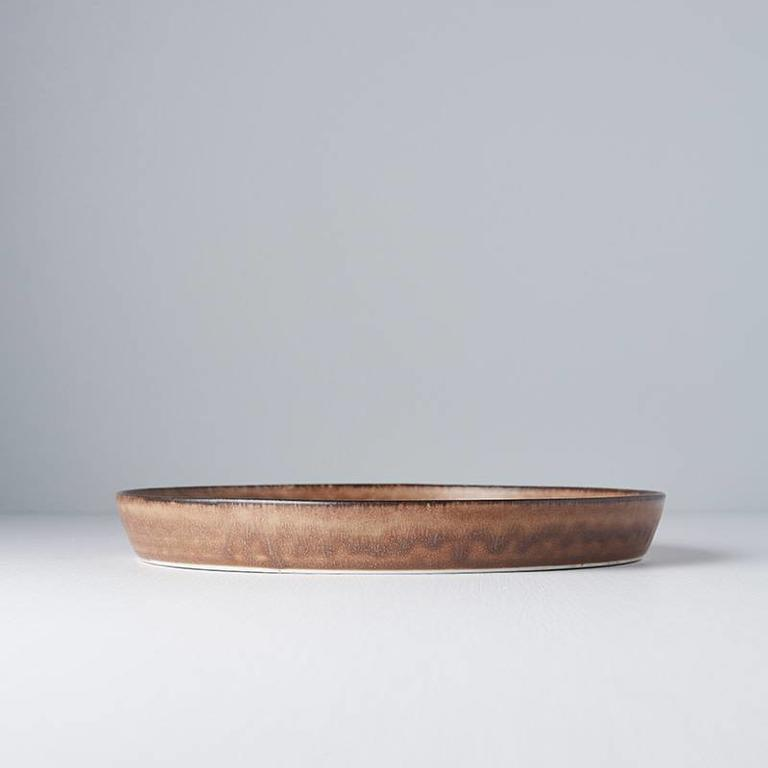 Toffee Plate Round Large With High Rim 25cm