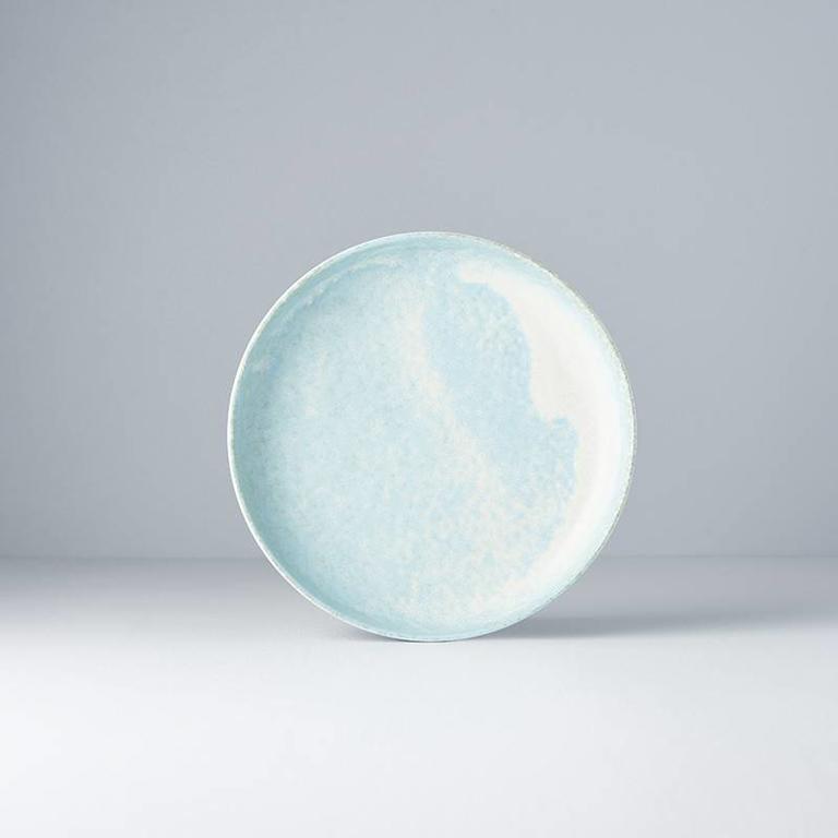 Soda Blue high rim Plate 20cm x 4cm