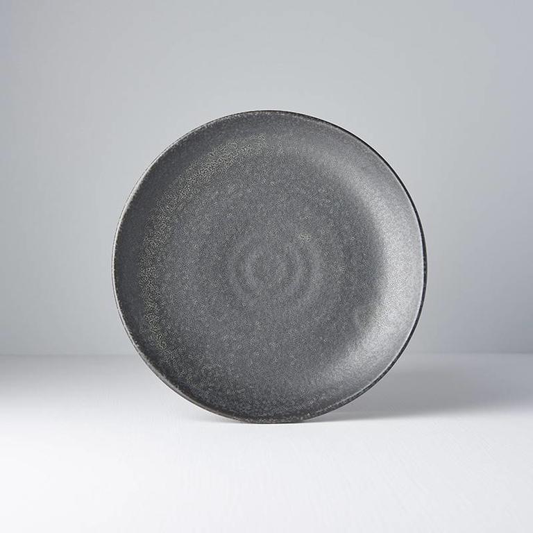 BB Black plate uneven 24.5cm x 3cm