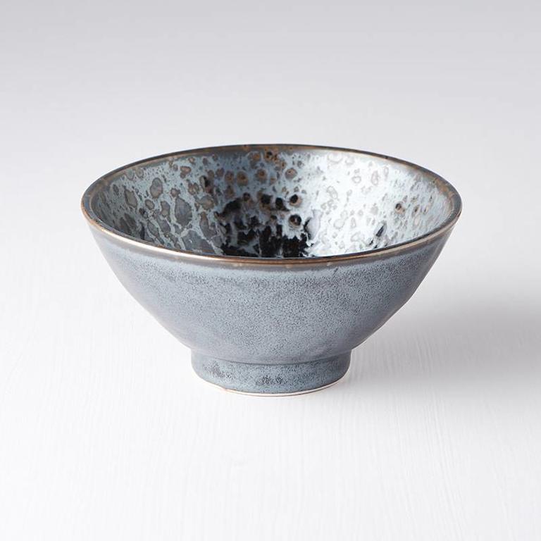 Black Pearl Uneven Medium Bowl 16cm x 7cm