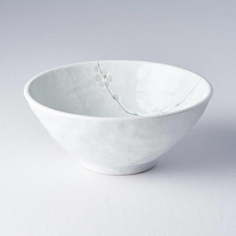 WHITE BLOSSOM UDON BOWL 20D 8.5H